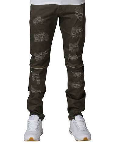 CRYSP MENS Green Clothing / Jeans