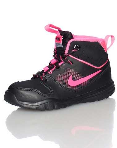 NIKE GIRLS Black Footwear / Boots 4C