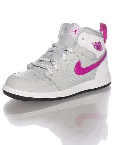 JORDAN GIRLS Grey Footwear / Sneakers 10C