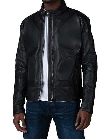 HUDSON OUTERWEARENS Black Clothing / Outerwear
