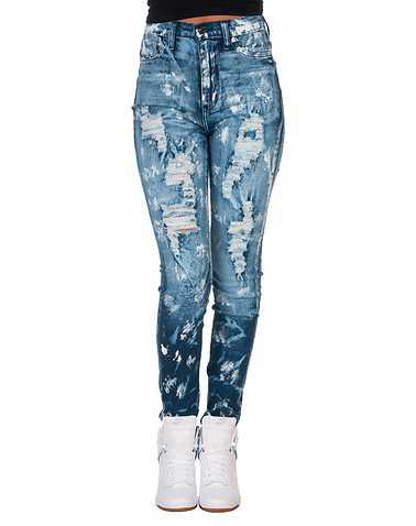 APHRODITE WOMENS Blue Clothing / Jeans 5