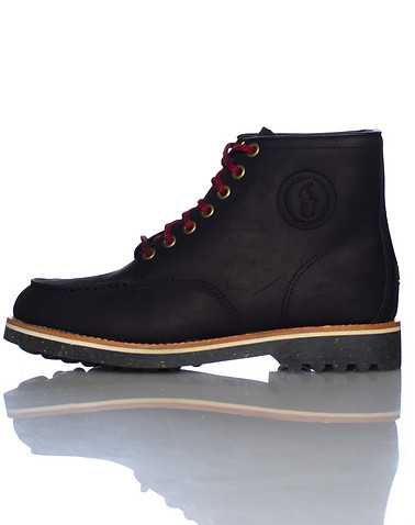 POLO FOOTWEAR MENS Black Footwear / Boots 9