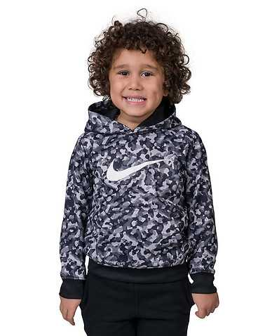 NIKE BOYS Black Clothing / Pullover Hoodies XL / 7