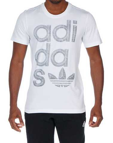 adidas MENS White Clothing / Tops