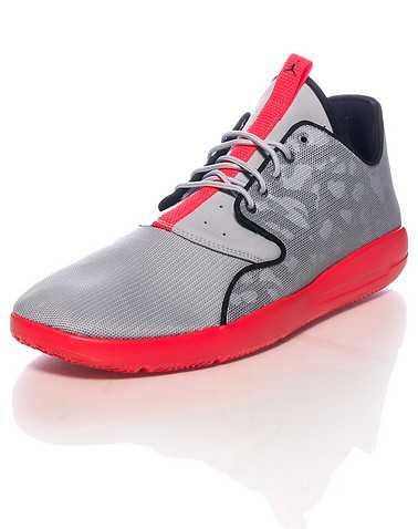 JORDAN MENS Grey Footwear / Sneakers
