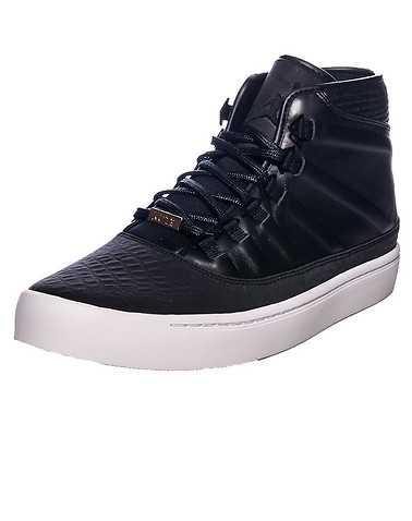JORDAN MENS Black Footwear / Sneakers