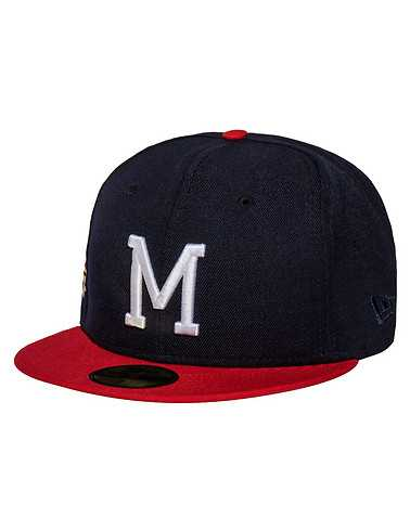 NEW ERA MENS Navy Accessories / Caps Fitted