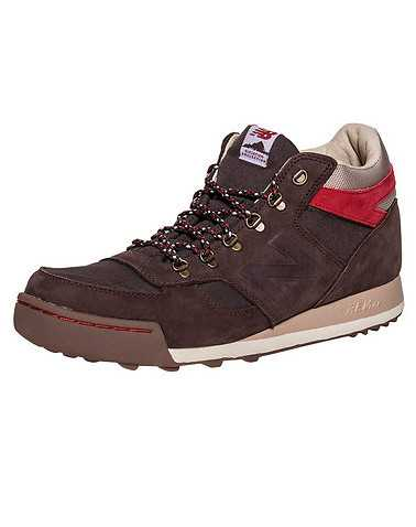 NEW BALANCE MENS Brown Footwear / Sneakers