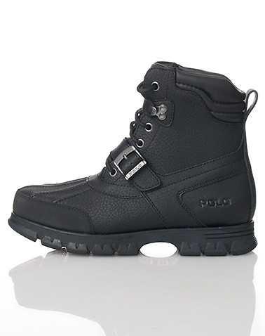 POLO FOOTWEAR MENS Black Footwear / Boots