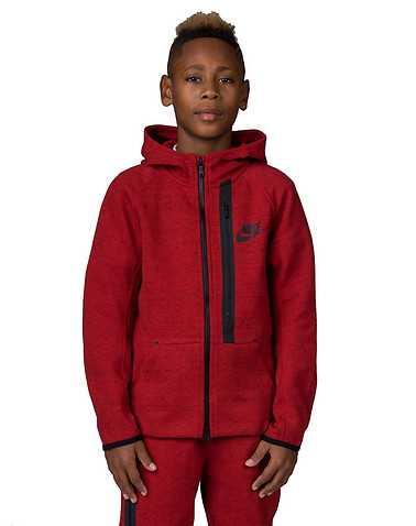 NIKE BOYS Red Clothing / Sweatshirts M
