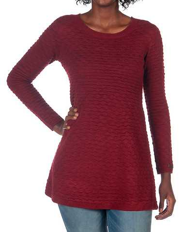 JSH WOMENS Red Clothing / Sweaters