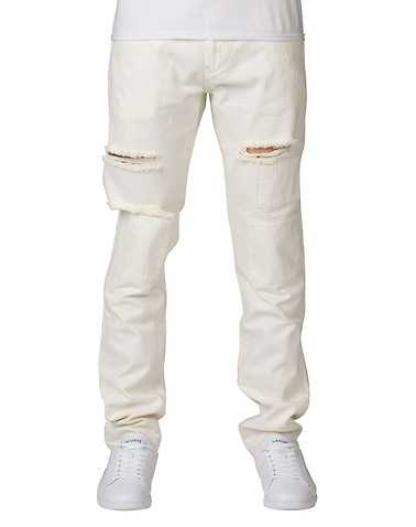 CRYSP MENS Beige-Khaki Clothing / Jeans 34