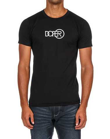 DOPE MENS Black Clothing / Tops XL