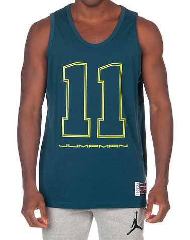 JORDAN MENS Blue Clothing / Tank Tops XL