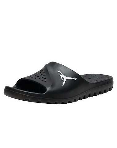 JORDAN MENS Black Footwear / Sandals
