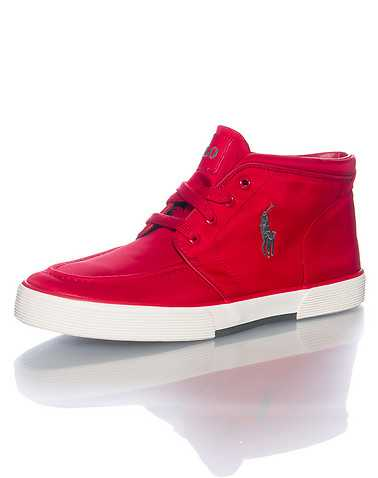 POLO FOOTWEAR MENS Red Footwear / Casual