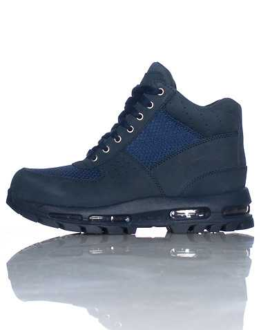NIKE BOYS Navy Footwear / Boots 3.5