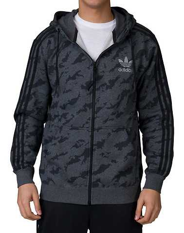 adidas MENS Dark Grey Clothing / Sweatshirts L