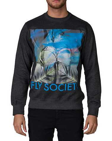 FLY SOCIETYENS Black Clothing / Sweatshirts