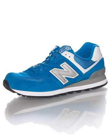 NEW BALANCE MENS Blue Footwear / Sneakers 10