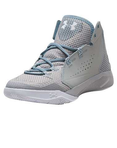UNDER ARMOUR MENS Silver Footwear / Sneakers