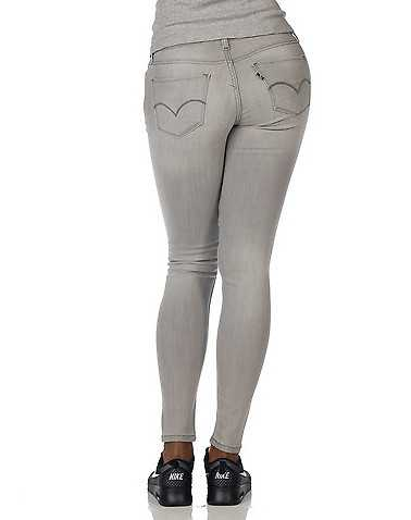 LEVIS WOMENS Grey Clothing / Jeans