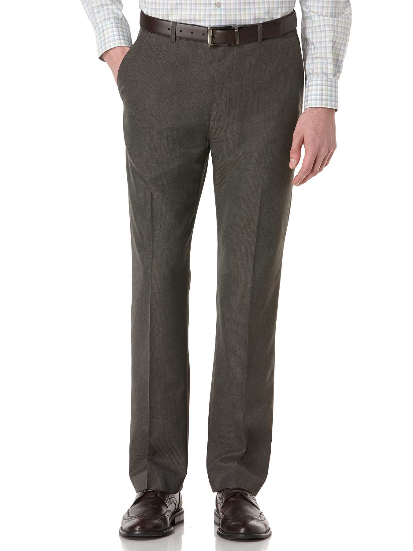 Perry Ellis Big and Tall Corded Twill Stripe Suit Pant