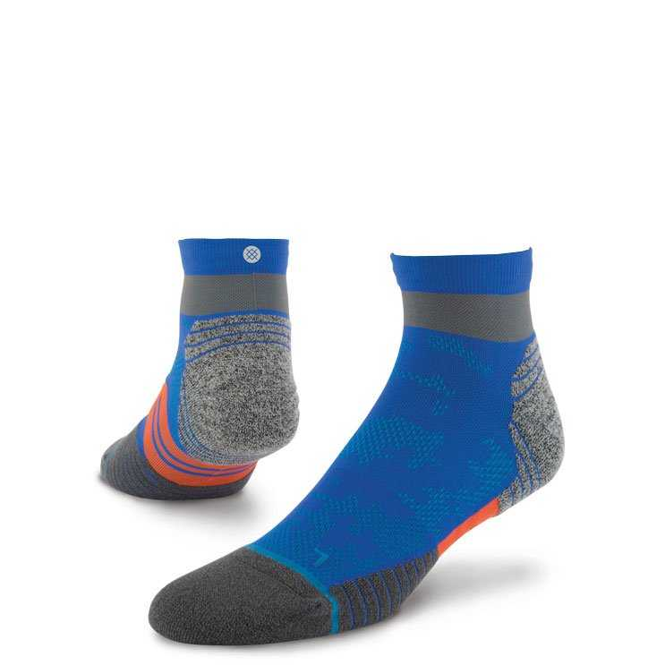 Stance Cadence Qtr BLU XL FUSION RUN Socks