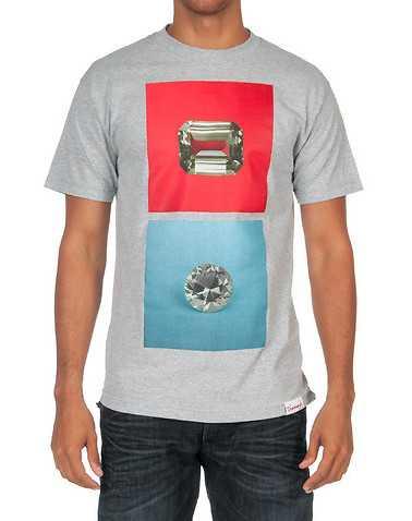 DIAMOND SUPPLY COMPANY MENS Grey Clothing / Tops S