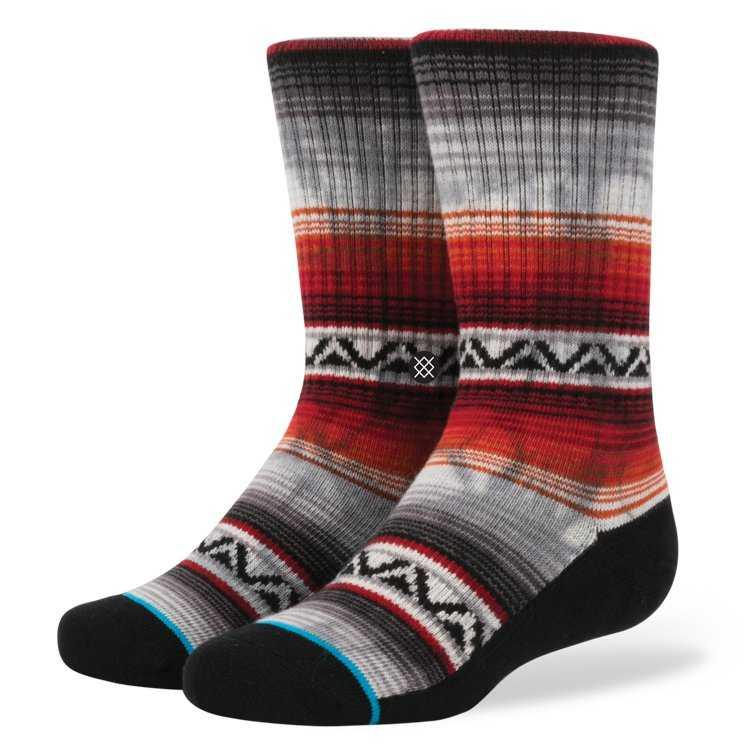 Stance Baja Malibu RED L boys Socks