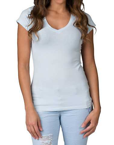 ESSENTIALS WOMENS Blue Clothing / Tops