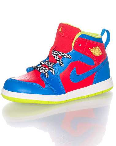 JORDAN BOYS Multi-Color Footwear / Sneakers 4C