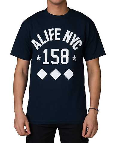 ALIFE MENS Navy Clothing / Tops