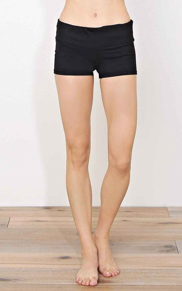 Show Off Performance Knit Shorts - - Black in Size by Styles For Less