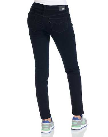 LEVIS WOMENS Black Clothing / Jeans