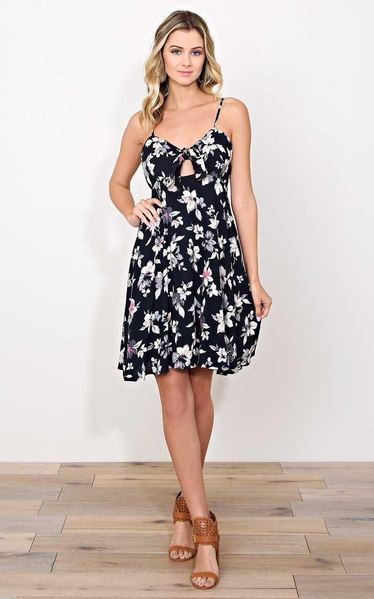 Lush Garden Woven Dress - MED - Combo in Size Medium by Styles For Less