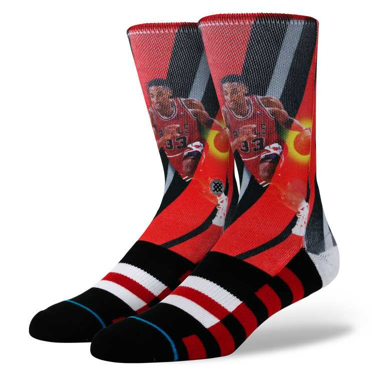 Stance Pippen - Trading Card NBA LEGENDS Socks