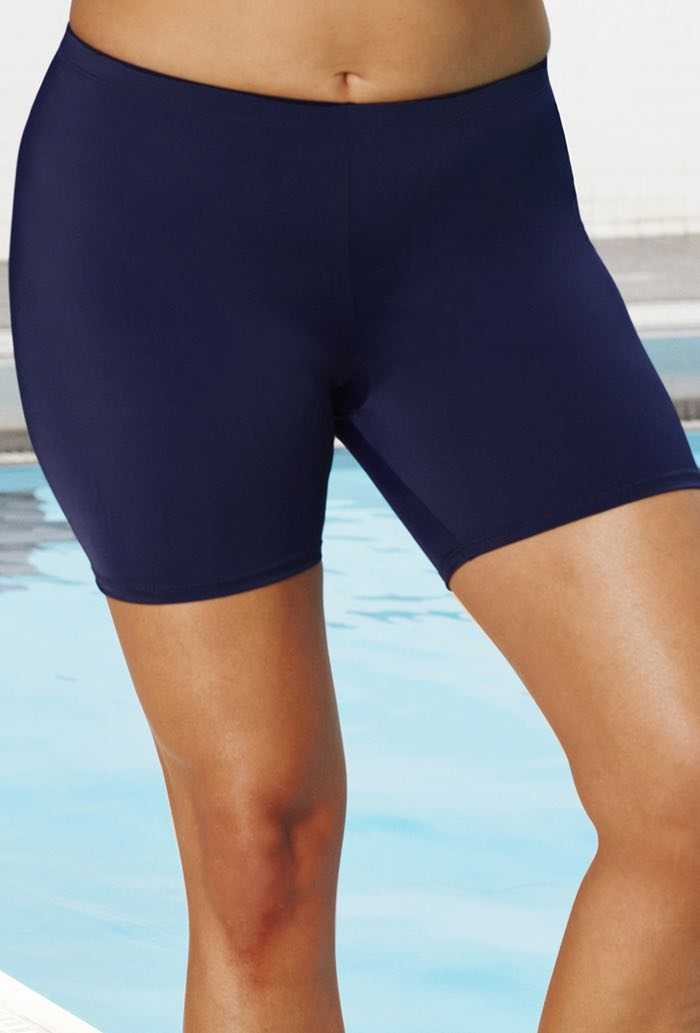 Aquabelle Xtra Life Lycra Navy Bike Short
