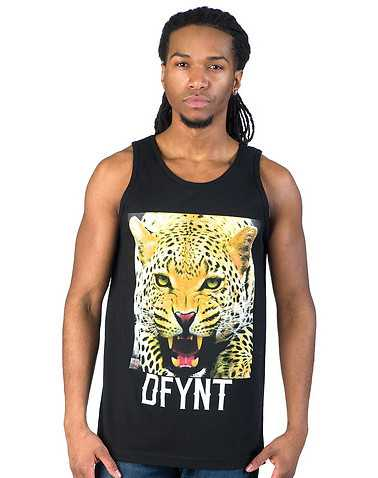 DFYNT MENS Black Clothing / Tank Tops XL