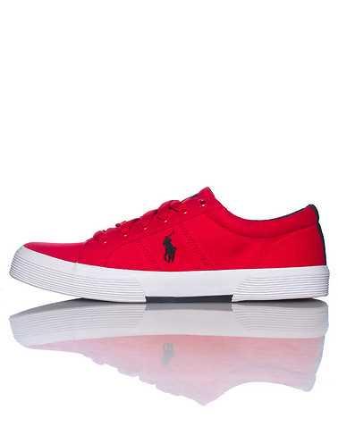 POLO FOOTWEAR MENS Red Footwear / Casual 11