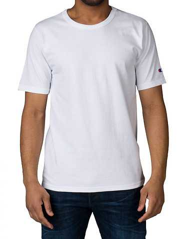 CHAMPION MENS White Clothing / Tops