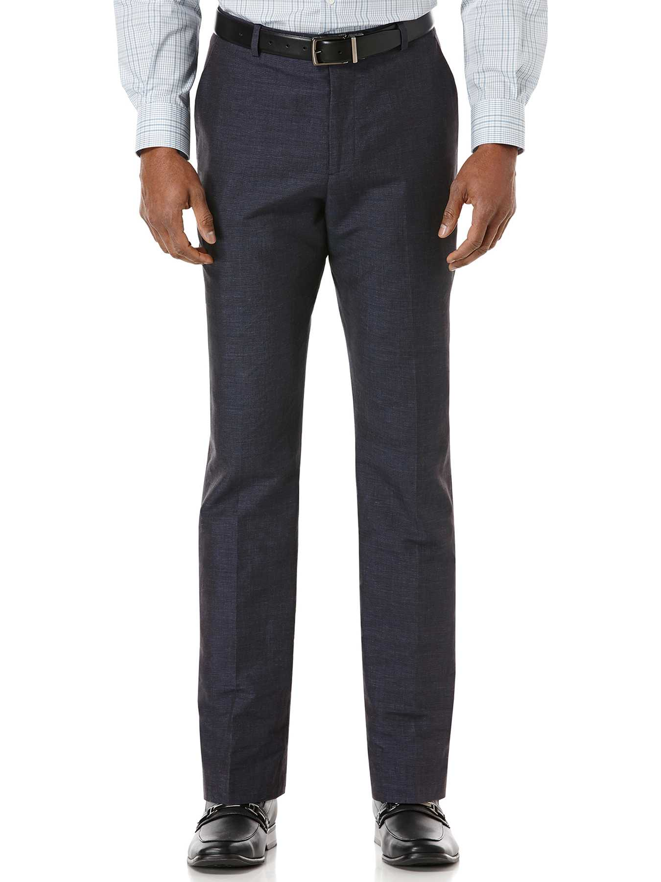 Perry Ellis Slim Fit Linen Suit Pant