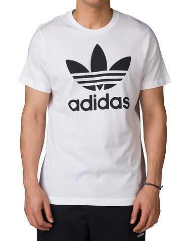 adidas MENS White Clothing / Tops L
