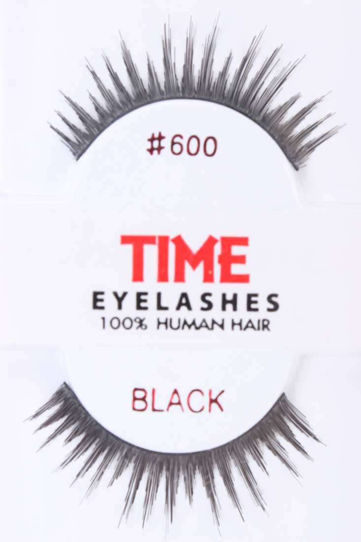 Black Full Volume Glamour Human Hair Eyelashes