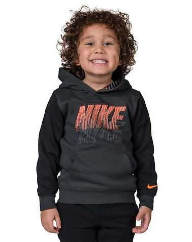 NIKE BOYS Black Clothing / Pullover Hoodies L / 6