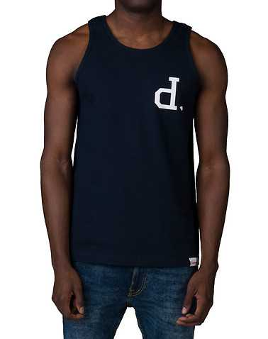 DIAMOND SUPPLY COMPANY MENS Navy Clothing / Tank Tops XXL