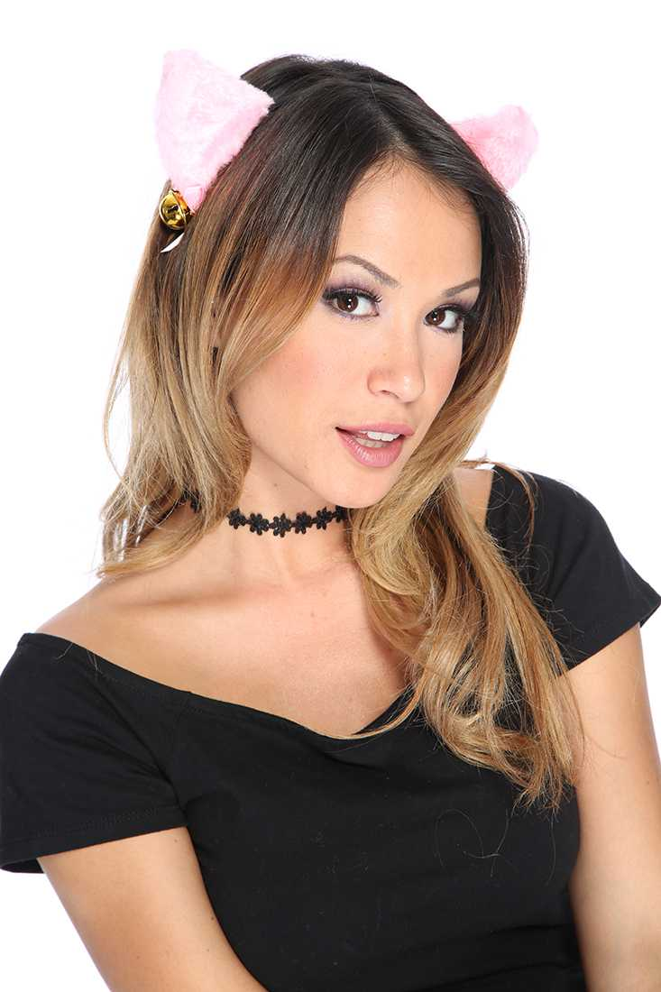 Pink Animal Head Band Costume Accessories