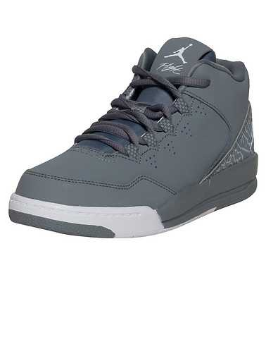 JORDAN BOYS Grey Footwear / Sneakers 2Y