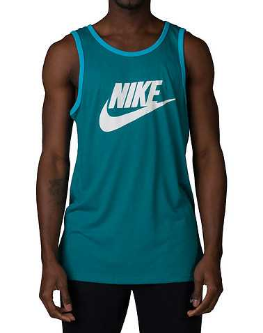 NIKE MENS Medium Green Clothing / Tank Tops