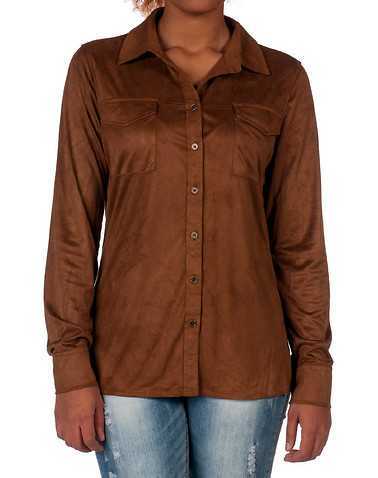 ESSENTIALS WOMENS Brown Clothing / Tops
